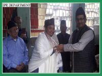 MINISTER IPR VISITS LEGSHIP'S BHANU SALIG ON 13.07.2019