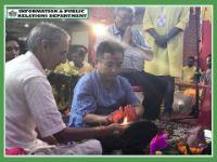 HCM ATTENDS GANESH CHATURTHI CELEBRATION AT THAKURBARI ON 02.09.2019
