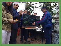 Minister-cum-Area MLA of Geyzing Bermiok constituency Shri Lok Nath Sharma inaugurated Close Circuit Surveillance Camera for Gyalshing town on 08.11.2019