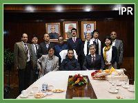 Mr. K. Matsumoto, Chief representative JICA India called on the HCM Shri P.S Tamang (Golay) on 15.11.2019