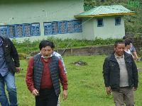 Hon'ble Minister  Shri Samdup Lepcha visited Lachung