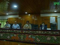 Hon'ble Minister for Forest and Environment Department Shri Karma Loday Bhutia