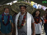 The traditional paddy(rice) trans-plantation festival of Asaar Pandra